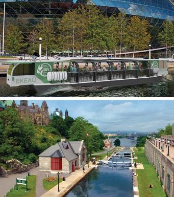 Canal Rideau et Musée Bytown