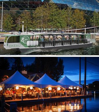 Canal Rideau et Restaurant Ritz