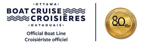 Ottawa Boat Cruise - Croisières Outaouais - Official boat line - Croisiériste officiel
